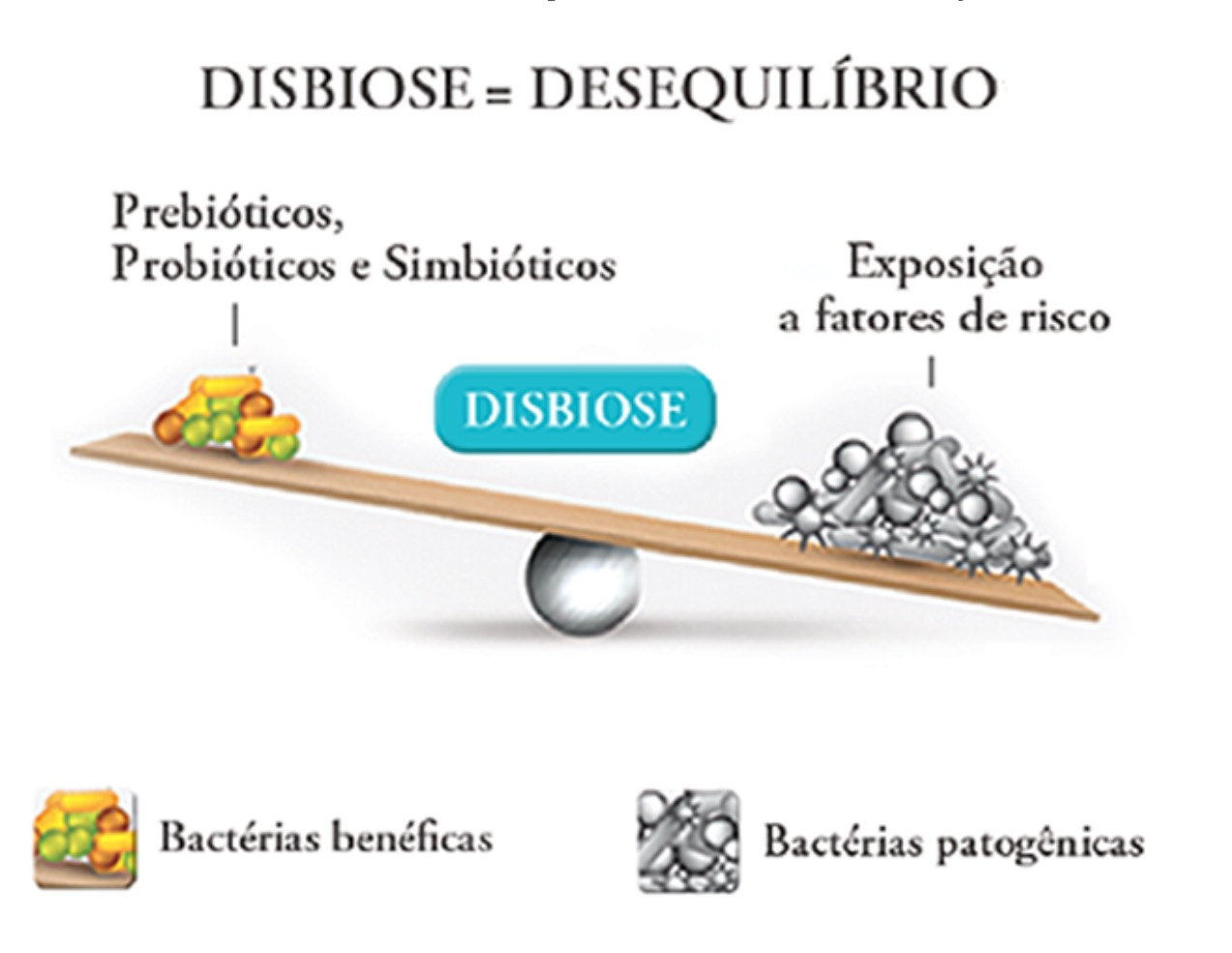 Disbiose / Desequilíbrio Intestinal -